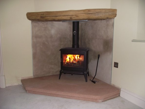 Wood Burning Stove Supplied And Installed For 163 1200