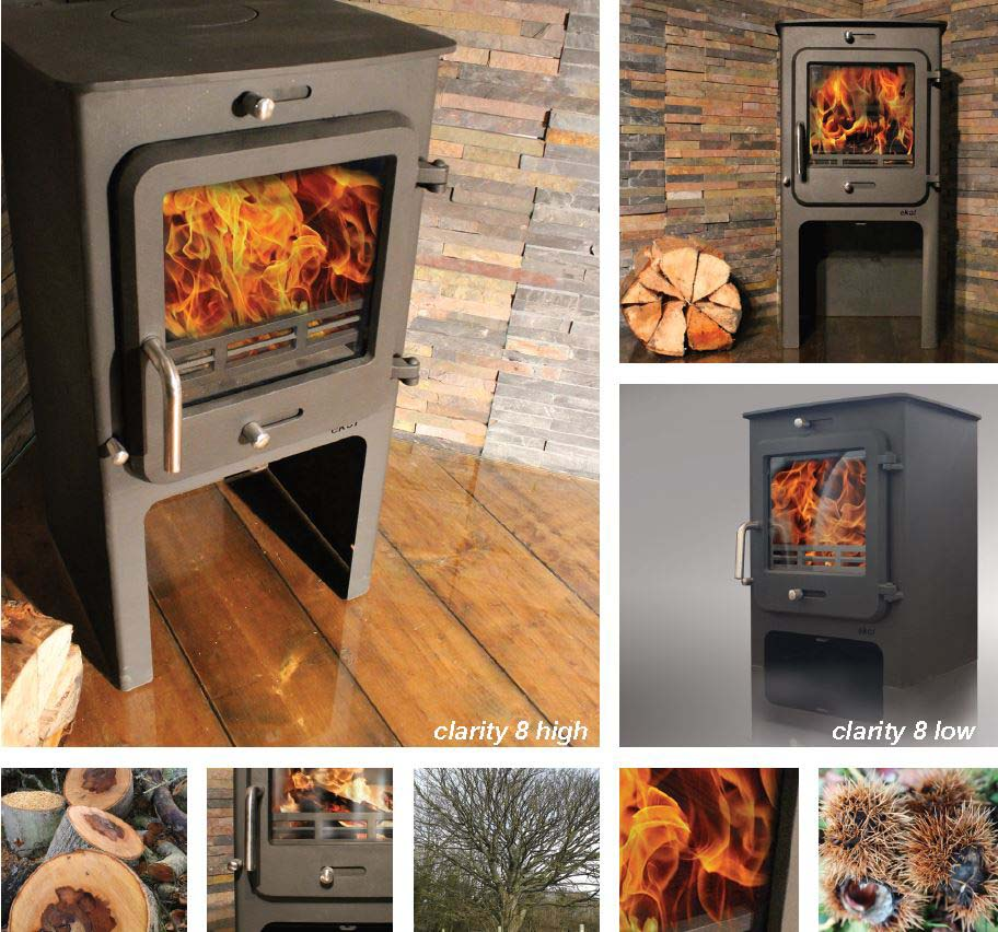 A wide range of wood burning and multi-fuel stoves fitted and supplied