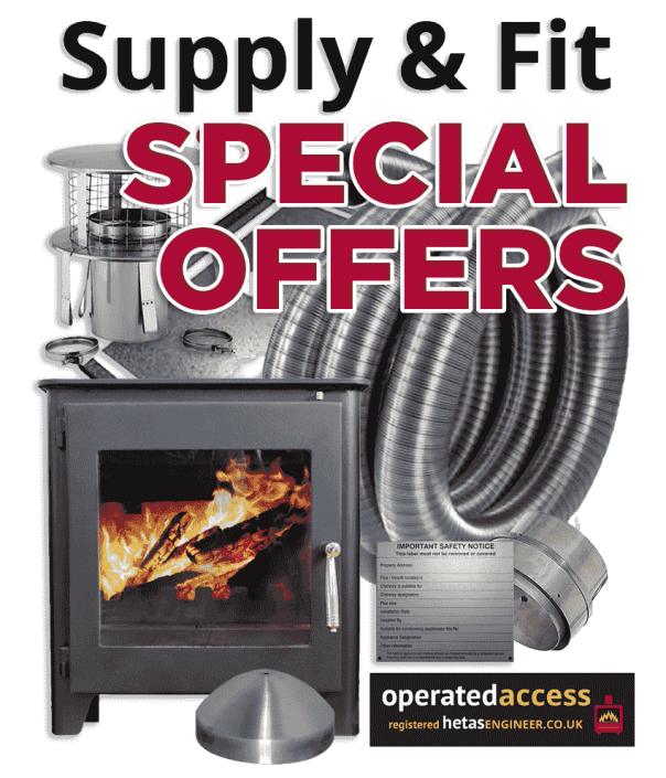 Stove supply and fit special offers from Hetas Engineer UK