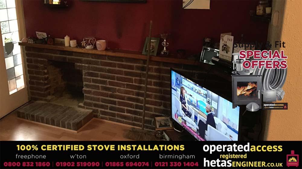 Hetas installer Oxford - stove installation video by Hetas Engineer UK