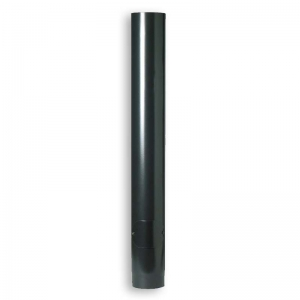 "1000mm 6"" VITREOUS Enamelled Flue Pipe with Sweeping Hatch door"