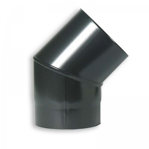 "45 Degree Bend 5"" VITREOUS Enamelled Flue Pipe"