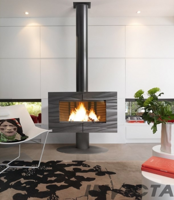 Invicta Theia Chimney-stove, Warmth and Style!