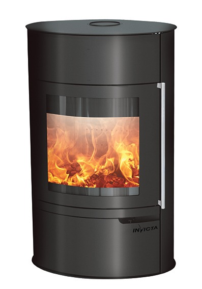 Invicta Tana on base steel stove
