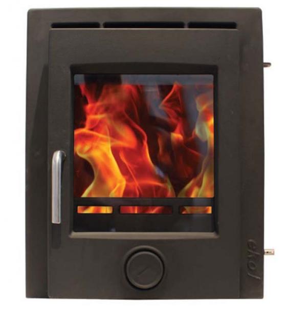 Ekol Inset 8 Multi Fuel Woodburning Stove