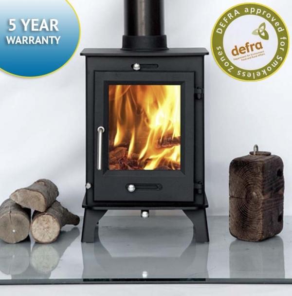 Ecosy+ Ottawa 5 wood burning stove 5kw