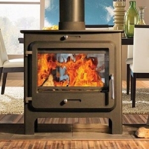 Ekol Clarity 12 multifuel woodburning stove