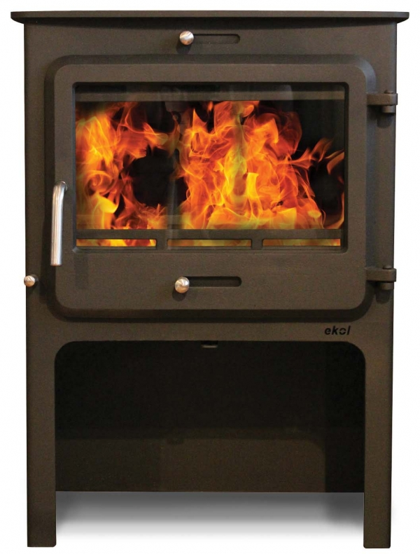 Ekol Clarity 12 woodburning stove high leg at great prices