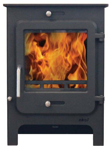 Ekol Clarity 8 low leg woodburning stove available at great prices and free delivery