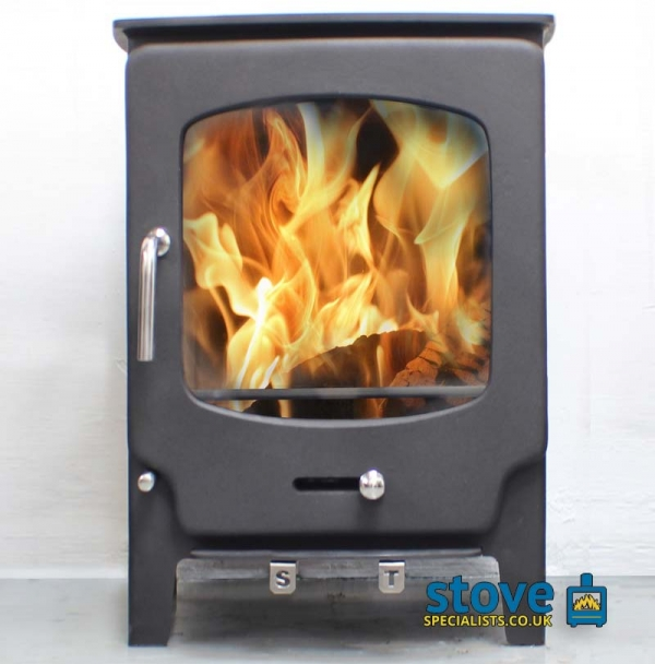 Saltfire ST-X8 8kW Multi fuel Wood burning Stove