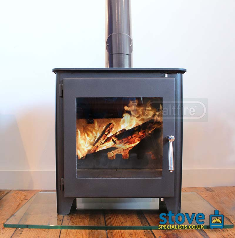 Saltfire St1 Vision Woodburning Stove 5kw Great Prices
