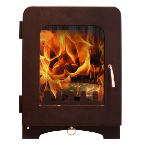 Saltfire ST2 woodburning stove charcoal