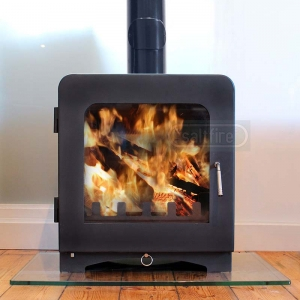 Saltfire ST4 7.5kW Multi fuel Wood burning Stove