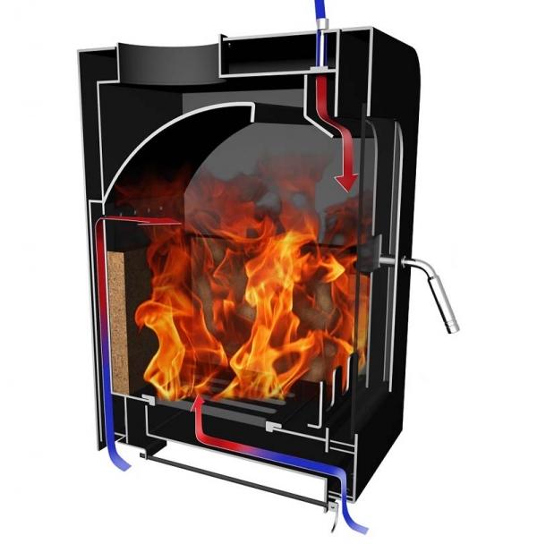 Saltfire ST4 7.5kW Multi fuel Wood burning Stove