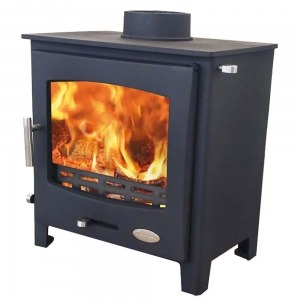 Woolly Mammoth 5WS widescreen stove multi-fuel wood burning