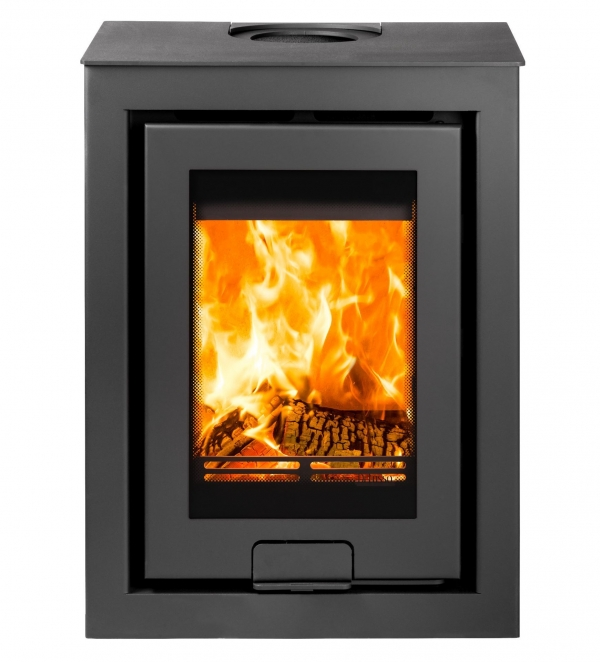 Di Lusso R4 Cube wood burning stove Telford