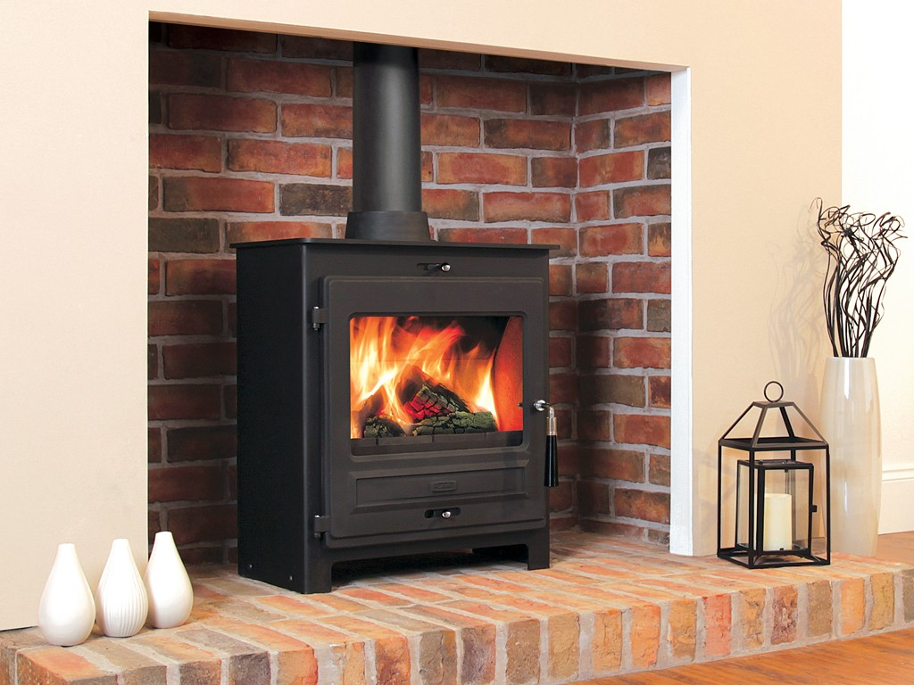 Flavel SQ07 multi fuel stove installation