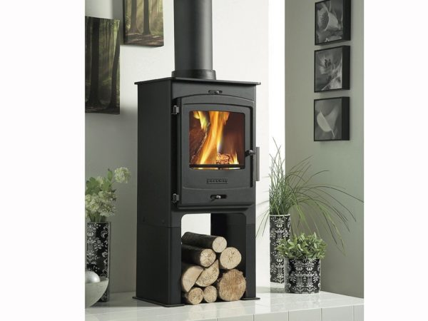 portway 1 multifuel stove for sale with high legs