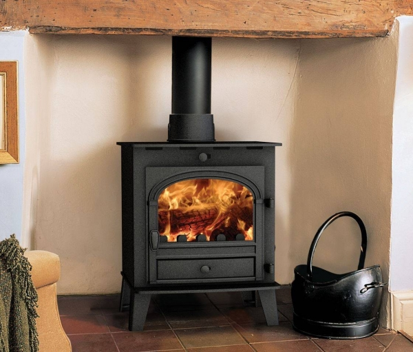 wood burning stove installation parkray consort 5 slimline