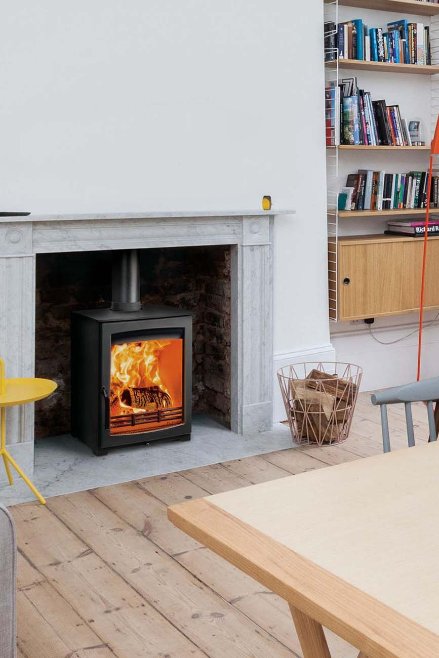 wood burning stove installation berkshire