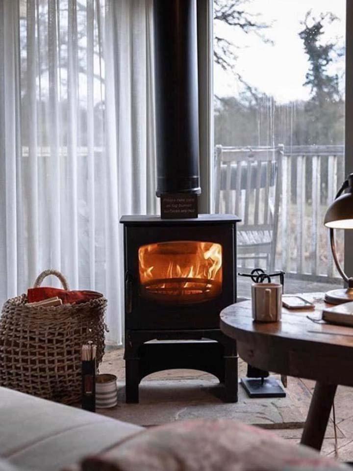 wood burning stove installation oxford