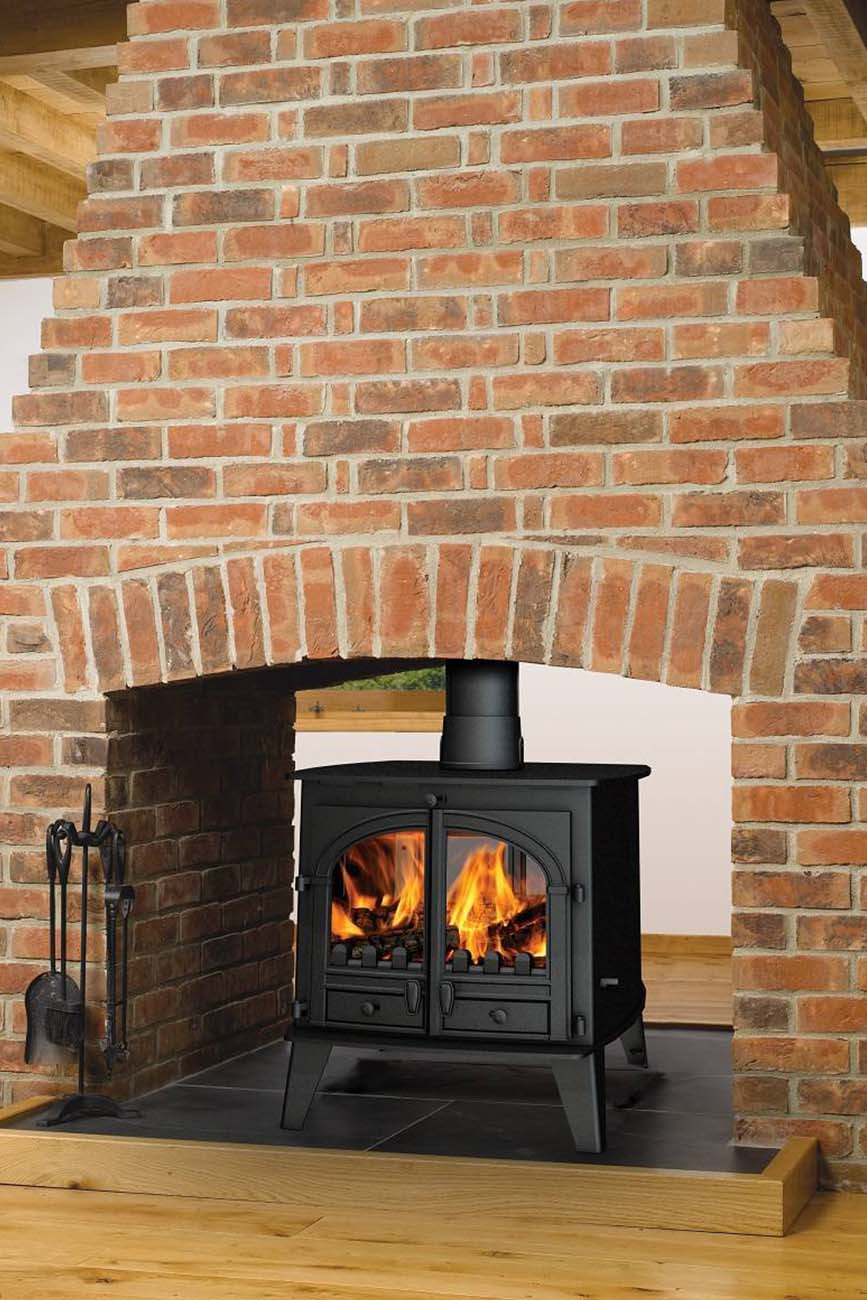 wood burning stove installation oxford