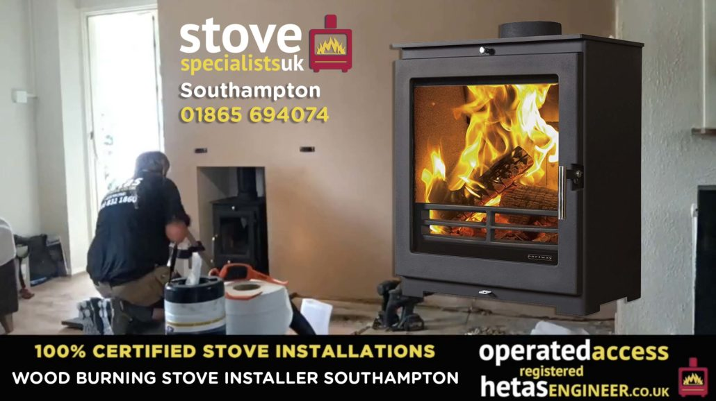 Multi-fuel and wood burning stove installer Southampton